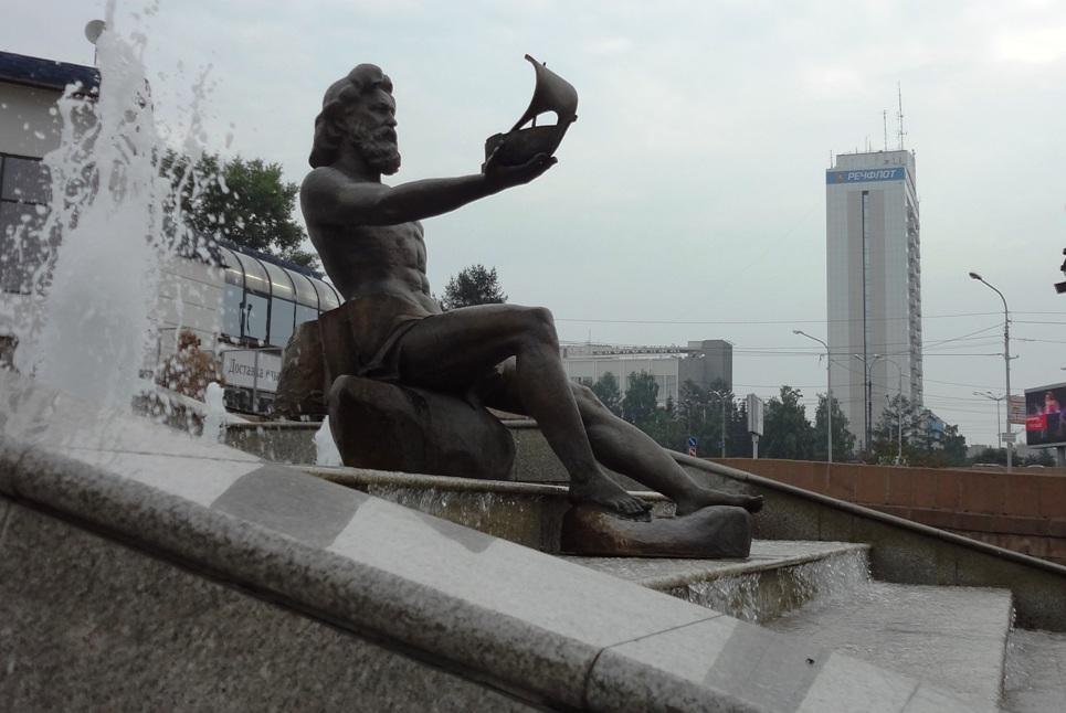 Каскадный фонтан ╚реки сибири